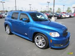 All Chevy blue chevy hhr : 2009 Blue Flash Metallic Chevrolet HHR SS #68406737 | GTCarLot.com ...