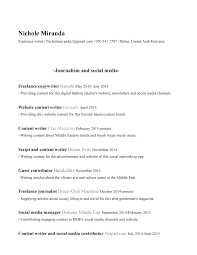 Template Journalism Resume Examples Luxury Journalist Template