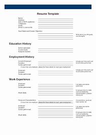 31 Beautiful Free Printable Resume Format Resume Templates