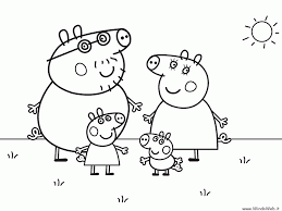Peppa Pig Coloring Pages Printable Pdf Peppa Pig Colouring Pages