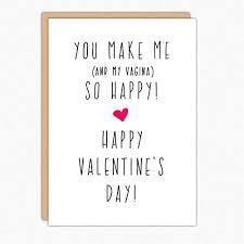 Amazon Com Funny Valentine Card 001 You Make Me My Vagina So