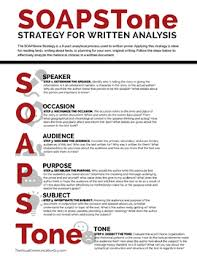 writing analysis soapstone strategy writing analysis handout by the visual