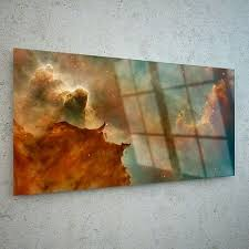 wall art glass print canvas picture
