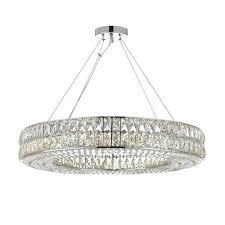 ring light chandelier 16 touareg wide gold 6 crystal light chandelier