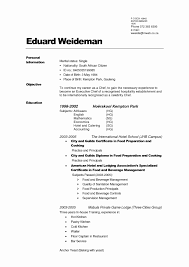 How To Build A Professional Resume Inspirational Make A