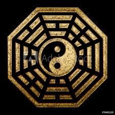 Fotografie Obraz Pagua Yin Yang China Symbol Of Reality Posterscz