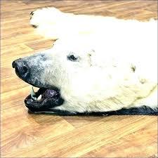 fake bear skin rug with head fake bear in rug polar with head for black fake bear skin rug