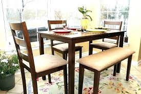 dining tables rustic wood dining table with bench breakfast nook furniture sets formal room akfast