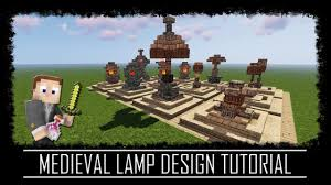 Lamp Designs Medieval Rustic Fantasy Minecraft Tutorial Video Youtube