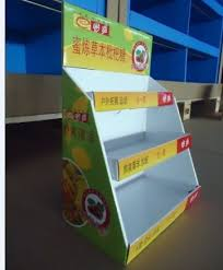 candy cardboard countertop display stand image