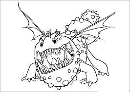 Disegni Da Colorare Di Dragon Trainer