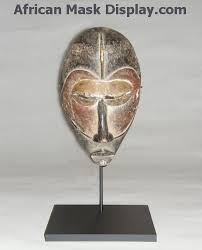 african mask display stands