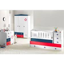 Mitwachsendes Komplett Babyzimmer Kleiner Matrose mit 3 türigem Kl ...