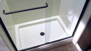 replacing a shower pan ceramic shower base bathroom shower bases for modern concept re bath shower