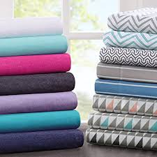 cotton bed sheets. Contemporary Bed JLA Home INC Cotton Blend Jersey Knit Twin Bed Sheets Coastal  Sheet To Sheets T