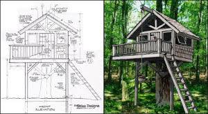 tree house plans decoration furniture building architecture how to build a treehouse26 how