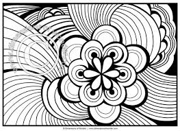 Small Picture Abstract Coloring Pages for Adults Printable Dimensions of Wonder