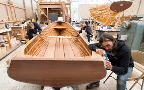 traditional wooden boatbuilding