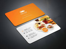 Restaurant Business Card Template Valid Restaurant Business Cards