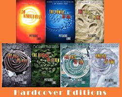 pittacus lore lorien legacies series hardcover collection set of books 1 7 9780061969553 ebay
