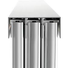 slimline sliding wardrobe doors head channel