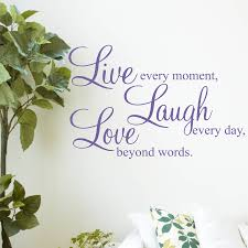 Live Laugh Love Quotes live laugh love' wall stickers quotes by parkins interiors 63