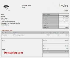 How To Make A Invoice