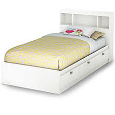 twin bed with storage and bookcase headboard. Modren Headboard Spark Twin Storage Bed And Bookcase Headboard  Inside With And