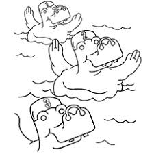 Small Picture Top 10 Free Printable Swimming Coloring Pages Online