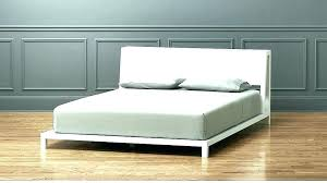 Low Profile Queen Platform Bed Low Profile Bed Frame Interesting ...