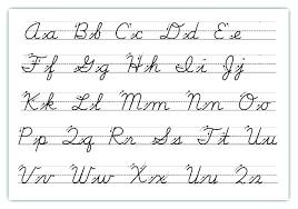 Lowercase Cursive Alphabet Worksheet Cursive Alphabet Capital And Lowercase Cursive Letters Lowercase And
