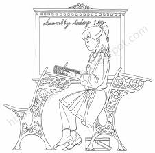 Small Picture American Girl Doll Coloring Pages coloringsuitecom