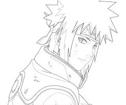 Naruto Coloring Pages Chibi Coloringstar Shippuden Minato