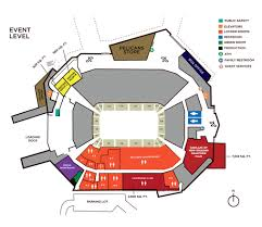 Smoothie King Center Concert Seating Chart Maps Levels Smoothie King Center
