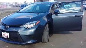 2014 Toyota Corolla LE Slate Grey/Automatic/Backup Camera - YouTube