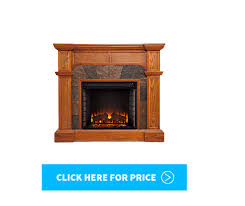 it is a stylish mantel electric fireplace that offers an impressive amount of heat with an added amount of user friendly features
