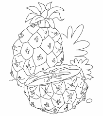 Cartoon fruits coloring pages are liked by toddlers. Fruits And Vegetables Coloring Pages Momjunction