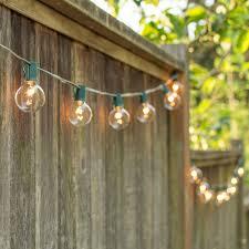 outdoor patio string lighting ideas. Outdoor Large Bulb String Lights | Patio Lighting Globe Ideas