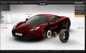 Design Your Own Mclaren Make The Mclaren Mp4 12c Your Own With New Online