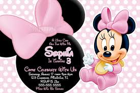 mickey and minnie invitation templates baby minnie mouse baby shower invitations afoodaffair me