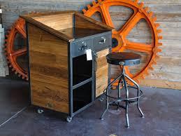 Hostess Stations Karl Hostess Stand Vintage Industrial Furniture