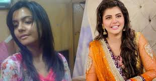 nida yasir with and without makeup stani actresses without makeup