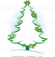 Outline Vector Art Many Interesting Cliparts Winter Party Hollyday Christmas Tree Outline Clip Art
