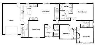 3 Bedroom 2 Bath House Plans Impressive Decorating