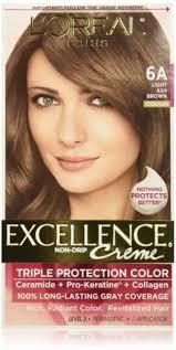 Loreal Paris Excellence Creme Haircolor Light Ash Brown 6a Cooler 1 Ea Pack Of 3 Walmart Com