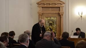 Прот Павел Хондзинский Речь на защите диссертации  Прот Павел Хондзинский Речь на защите диссертации