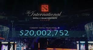 dota 2 news the international 7 prize pool has crossed 20 million