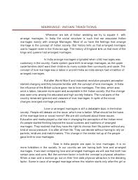 Traditional Marriage Vs Modern Marriage Essay The Marriage Crisis