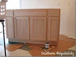 stain unfinished cabinets. Stain Unfinished Cabinets Homeviews Co Inside