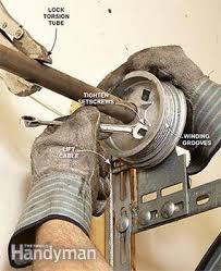 garage door cable came offAdvanced Garage Overhead Door Repairs  Family Handyman